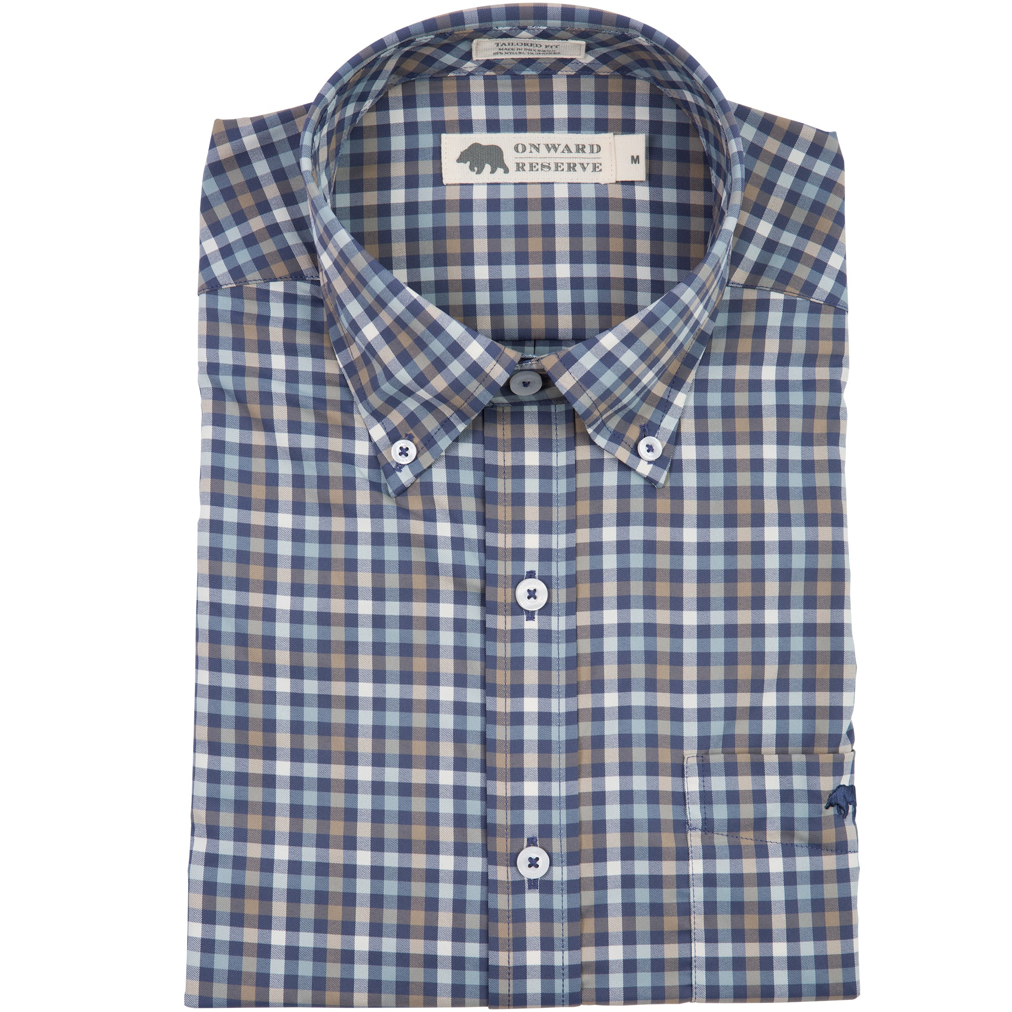 Pinewood Performance Tailored Fit Button Down - OnwardReserve