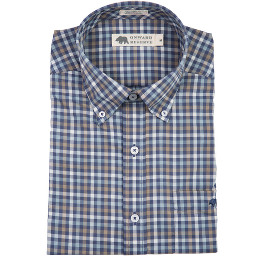 Pinewood Performance Tailored Fit Button Down