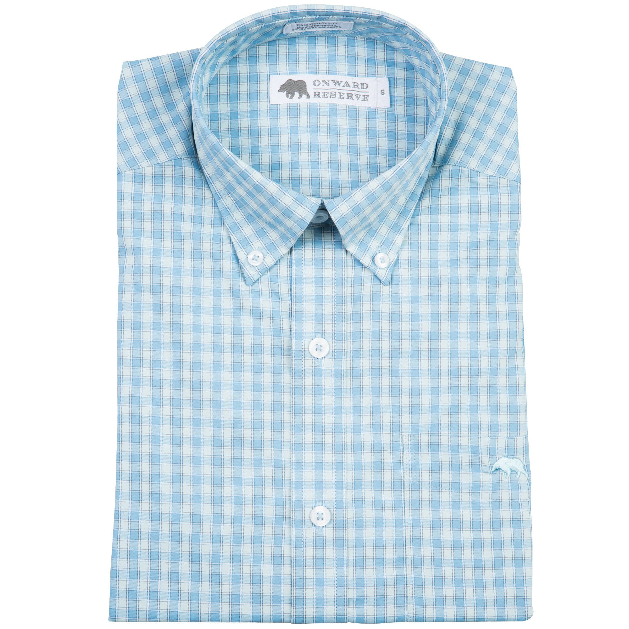 Scaly Tailored Fit Performance Button Down - OnwardReserve