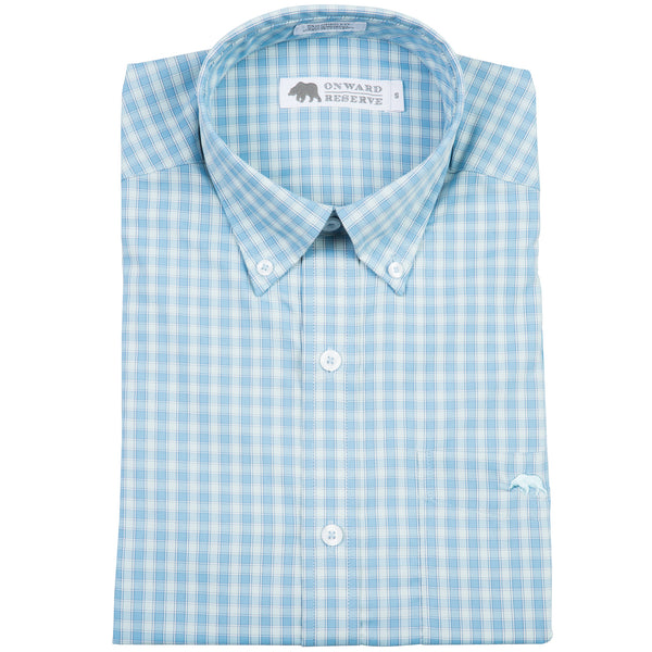 Scaly Performance Tailored Fit Button Down - Onward Reserve