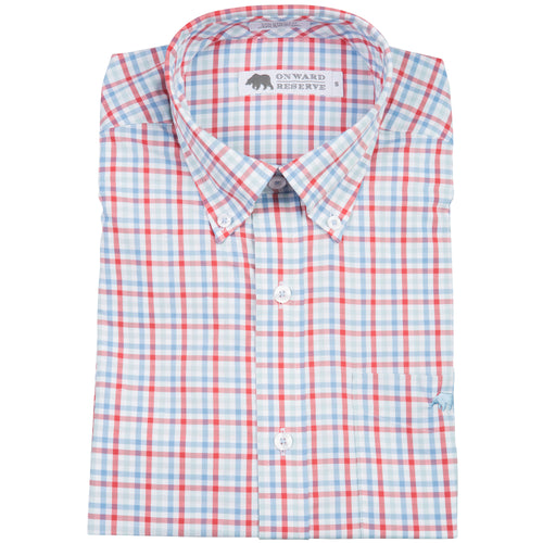 Whiteside Performance Tailored Fit Button Down