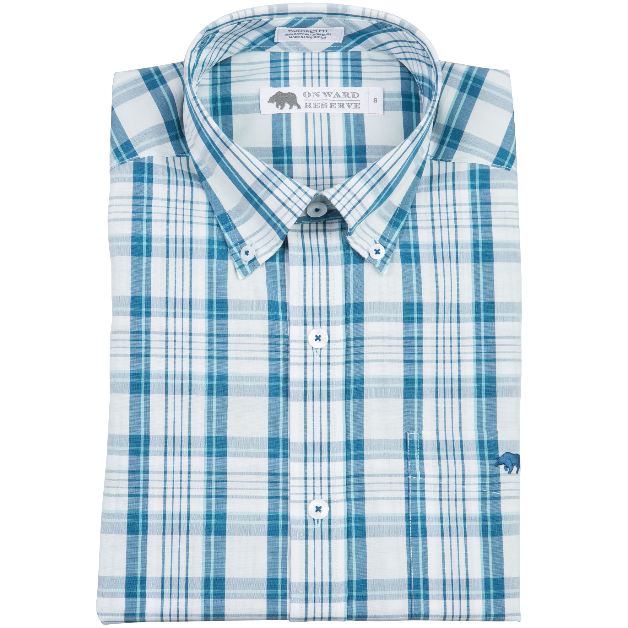 Delany Tailored Fit Button Down - OnwardReserve