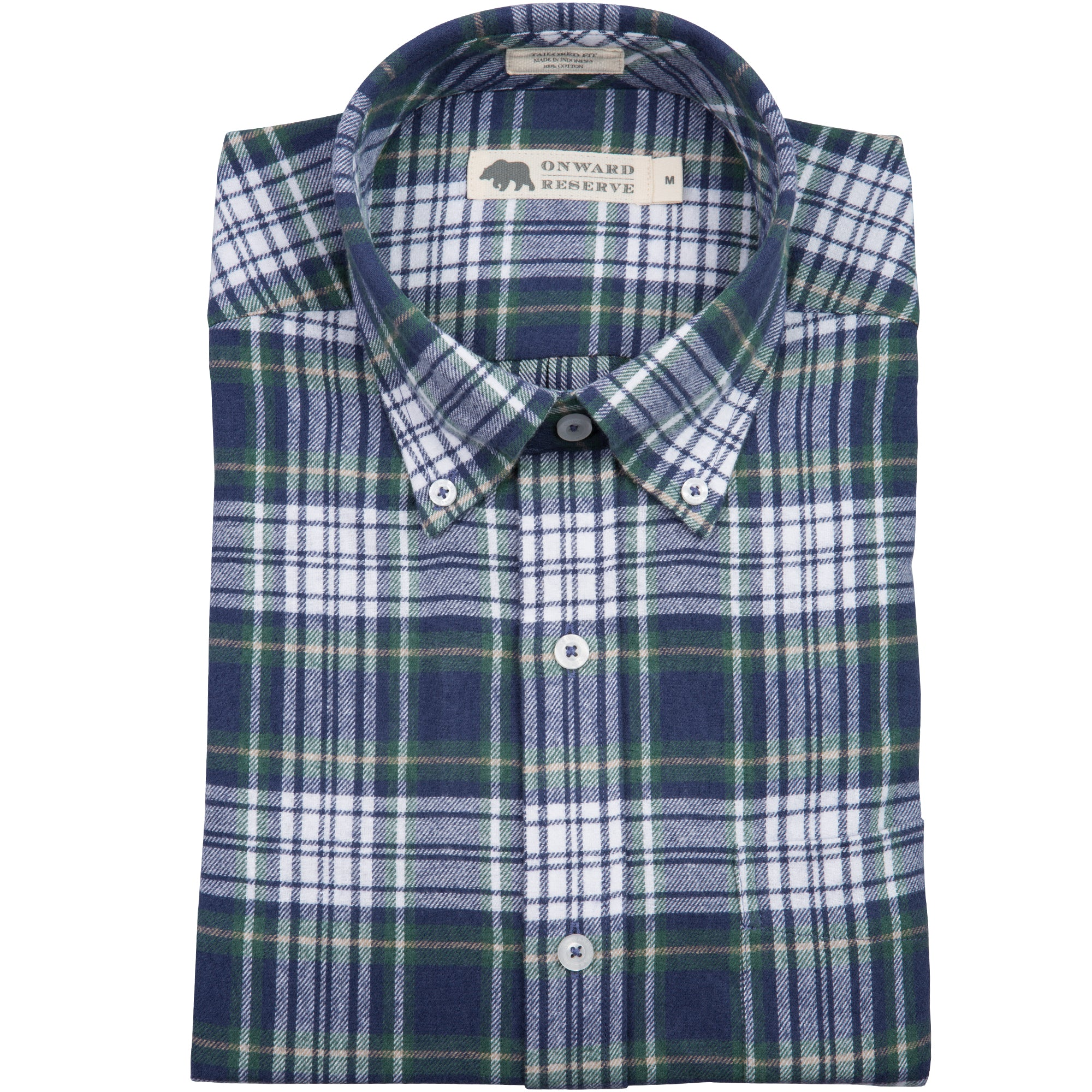 Belmont Tailored Fit Flannel - OnwardReserve