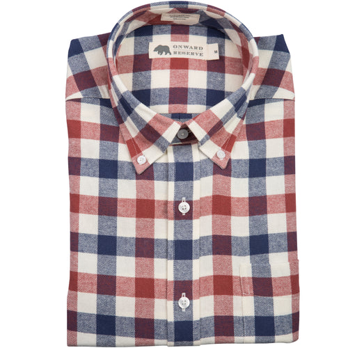 Pike Tailored Fit Flannel - Onward Reserve