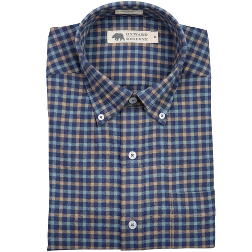 Shelby Tailored Fit Flannel - Onward Reserve