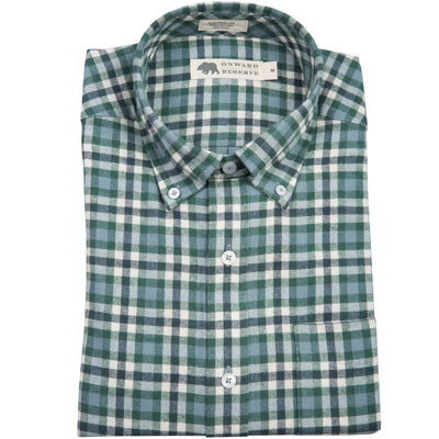 Greenwood Tailored Fit Flannel - OnwardReserve