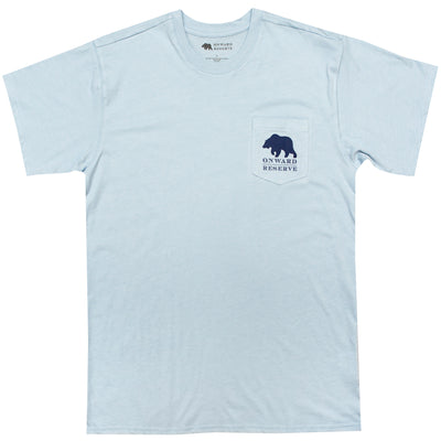 19th Hole Short Sleeve Tee- Heather Cashmere