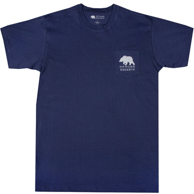 Fly Short Sleeve Tee- Twilight Blue
