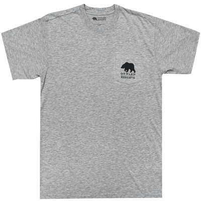 Fly Short Sleeve Tee- Heather Grey