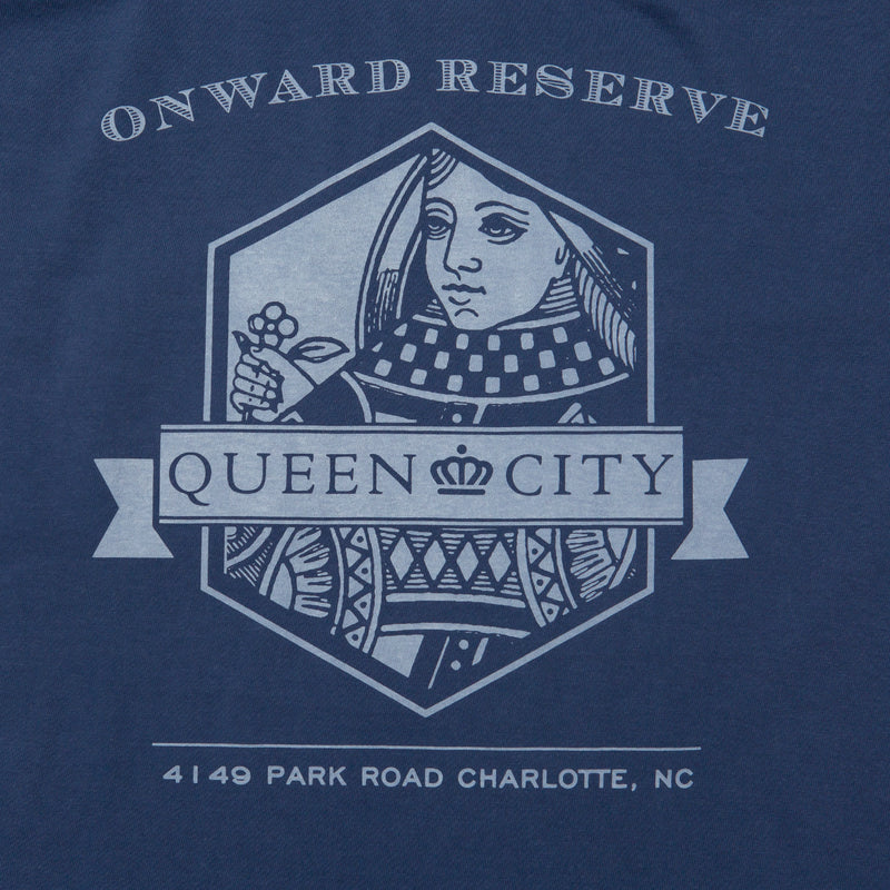Charlotte Short Sleeve Tee - Dark Blue - OnwardReserve