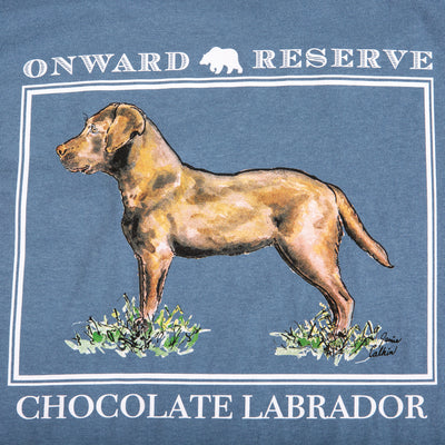 Chocolate Lab Short Sleeve Tee - OnwardReserve