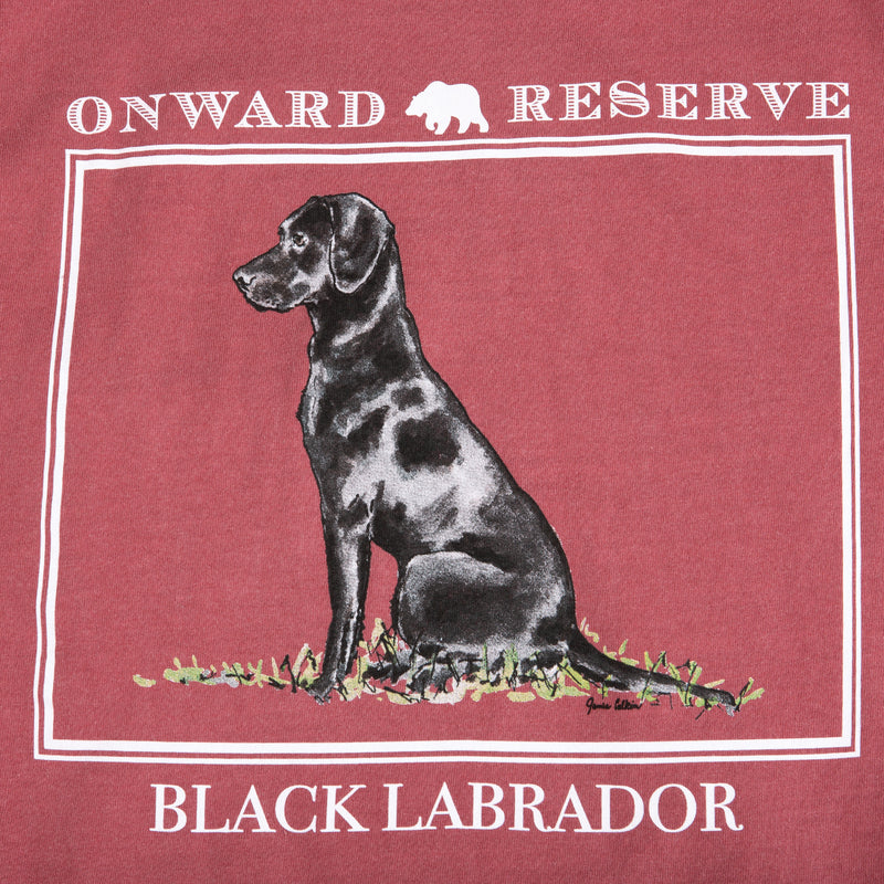 Black Lab Short Sleeve Tee - OnwardReserve