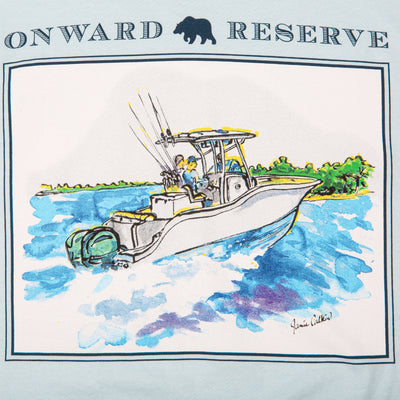 Center Console Tee - Chambray - OnwardReserve