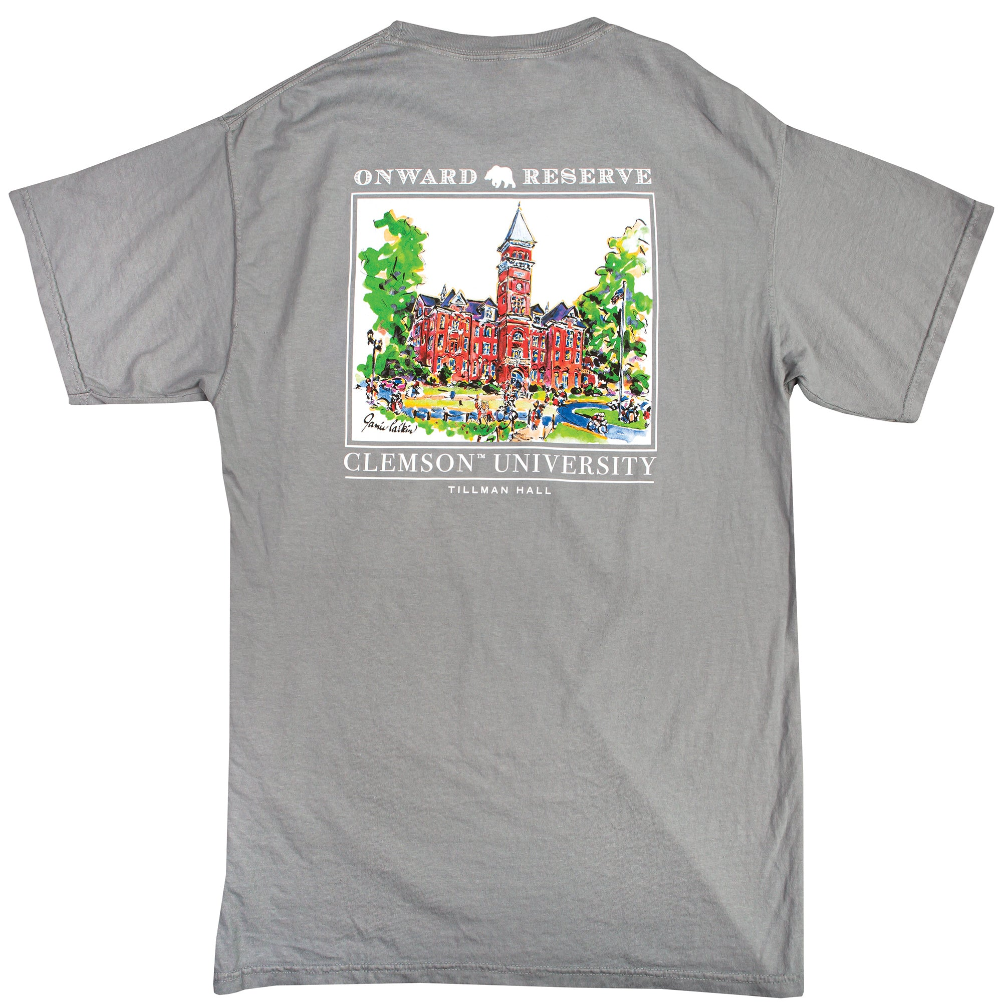 Tillman Hall Short Sleeve Tee - OnwardReserve