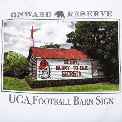 "UGA ""Glory"" Barn Sign LS Tee - OnwardReserve"