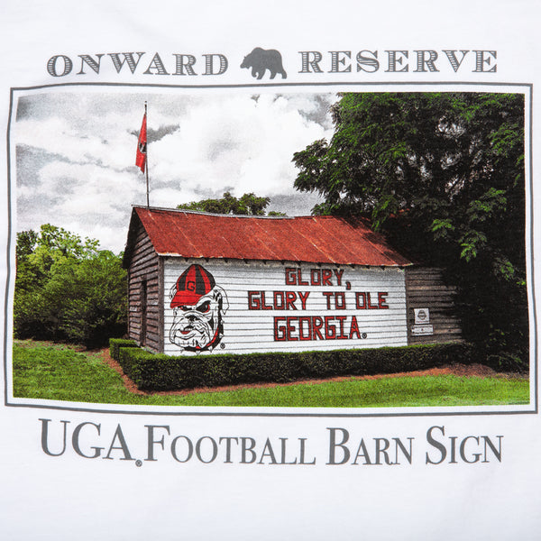 UGA Barn Sign LS Tee - Onward Reserve