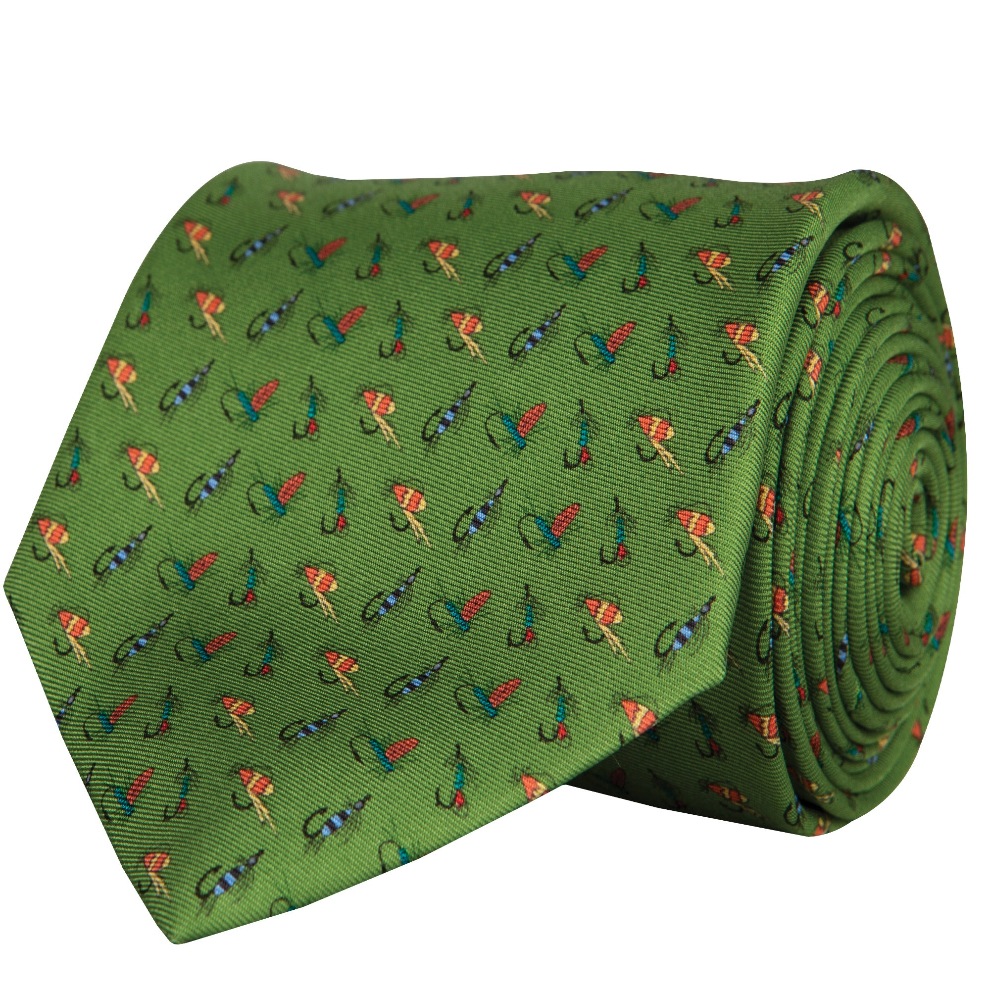 Fly Fish Neck Tie