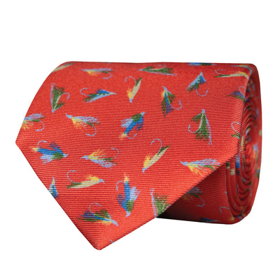 Flies Neck Tie