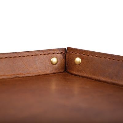 Bison Leather Valet Tray - OnwardReserve