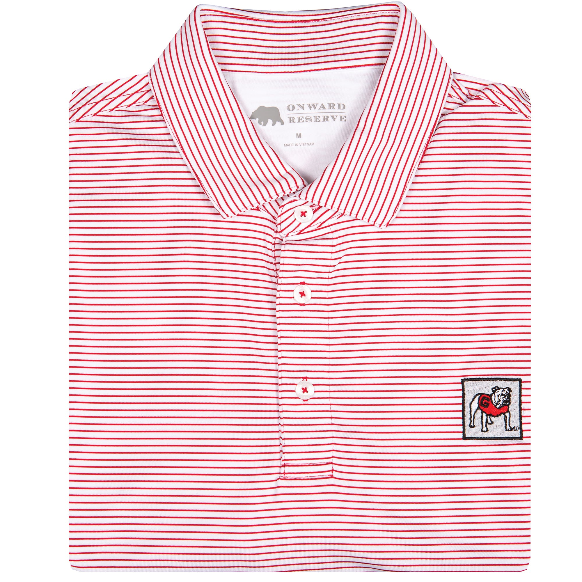 Magill Birdie Stripe Performance Polo - OnwardReserve