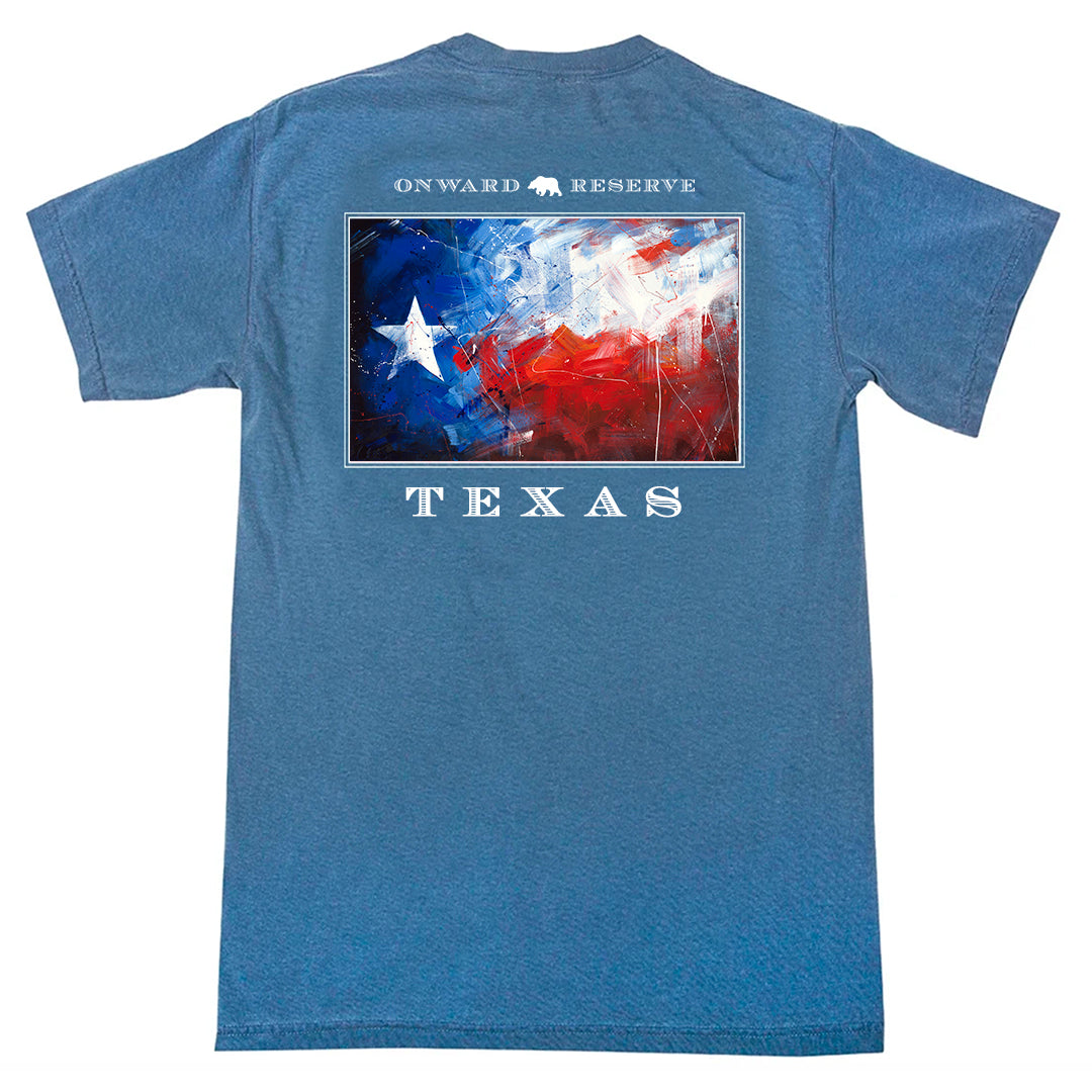 Texas Flag Short Sleeve Tee