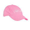 Wash Your Damn Hands Cotton Hat in Pink - OnwardReserve
