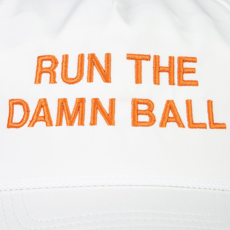 Orange Run The Damn Ball Rope Hat - OnwardReserve