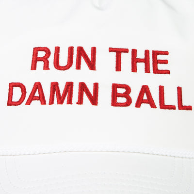 Crimson Run The Damn Ball Rope Hat