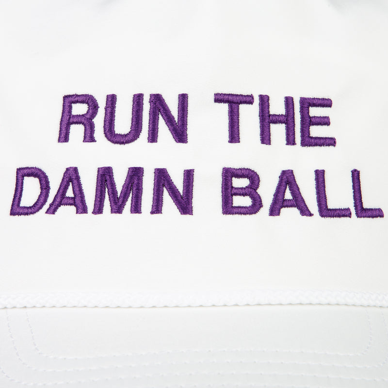 Purple Run The Damn Ball Rope Hat - OnwardReserve