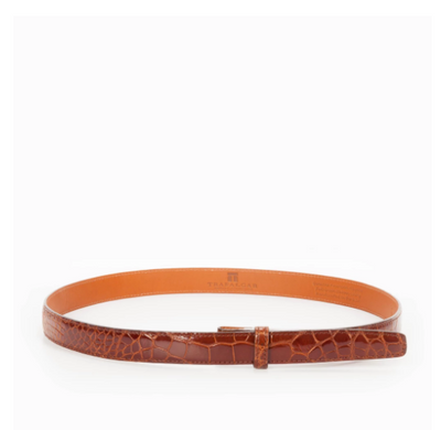 "Genuine Alligator 1"" Belt Strap"