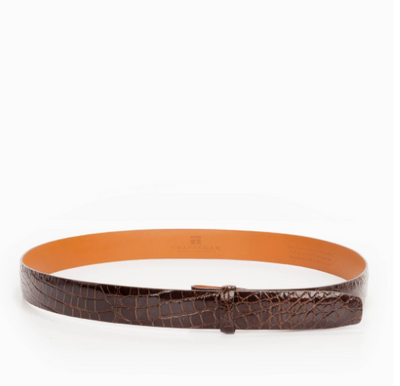 "Genuine Alligator 1"" Belt Strap - OnwardReserve"