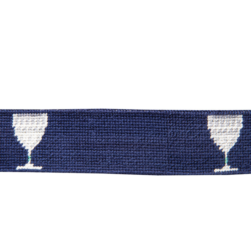 Capital Club Needlepoint Belt