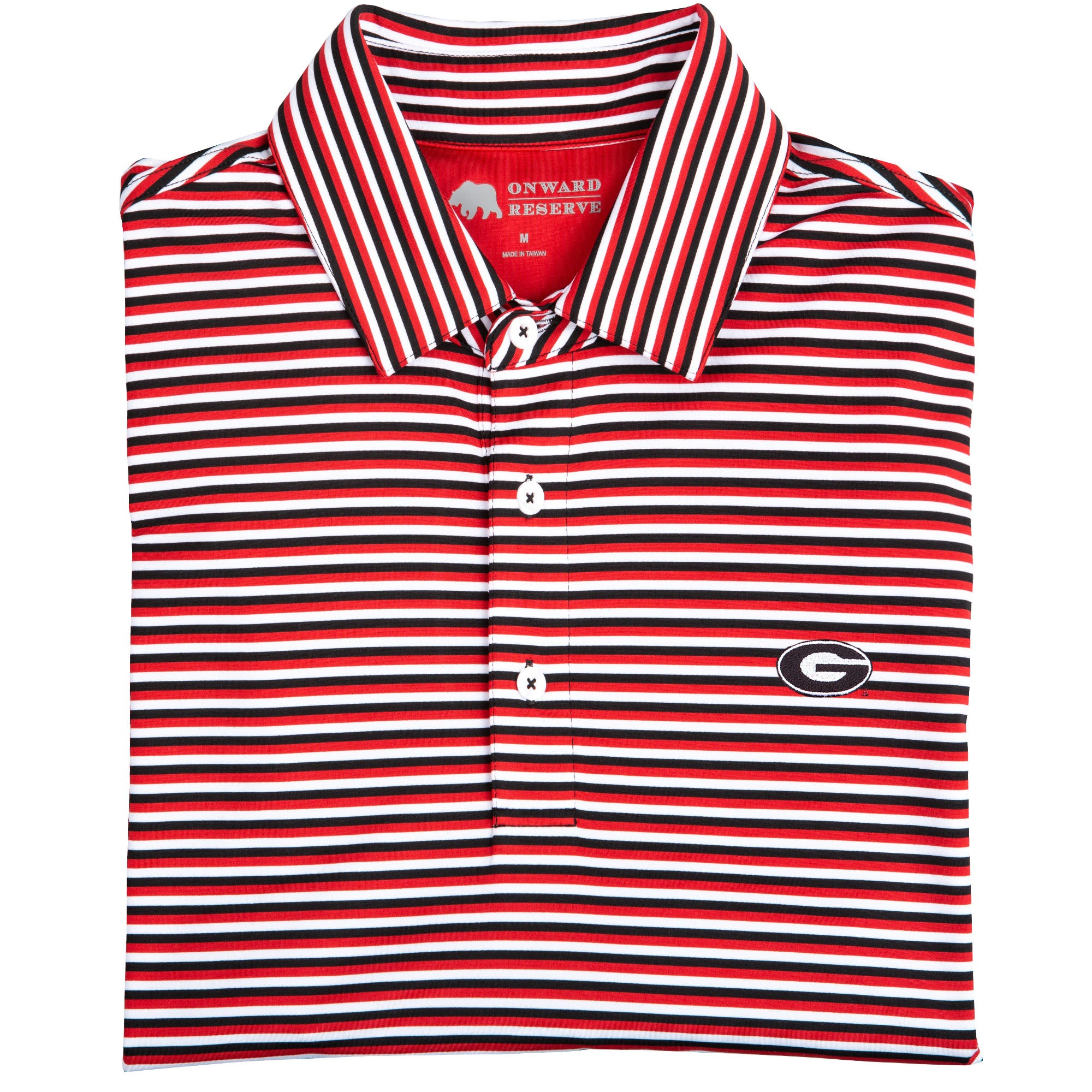 Triple Stripe Super G Polo - Onward Reserve