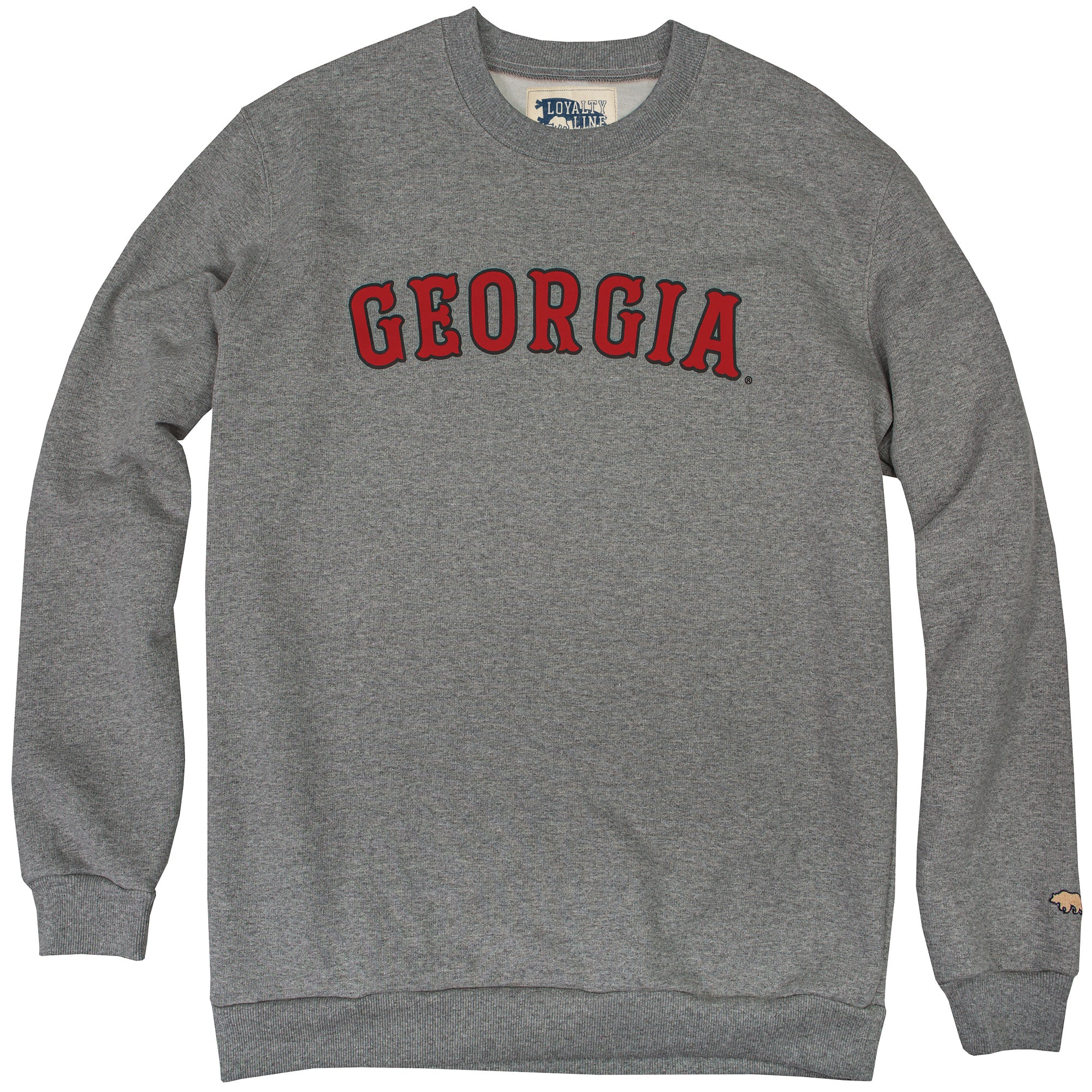 Georgia Loyalty Vintage Crew Neck Sweatshirt