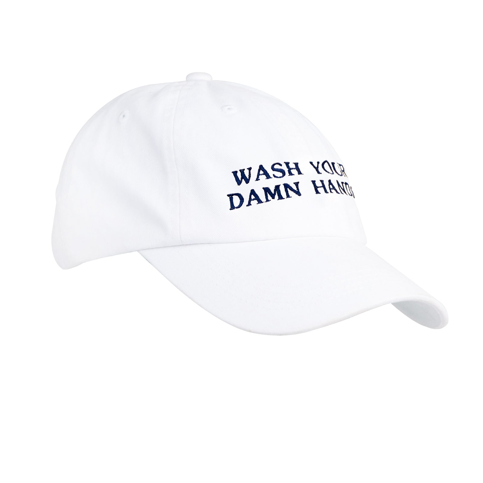 Wash Your Damn Hands Cotton Hat - OnwardReserve