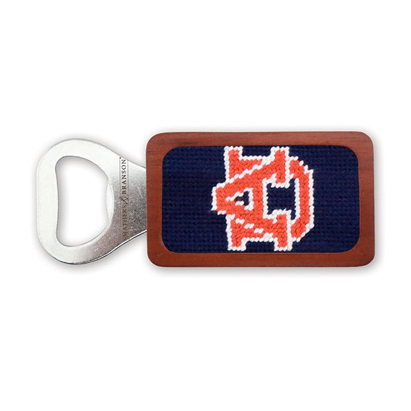 Auburn Needlepoint Bottle Opener - OnwardReserve