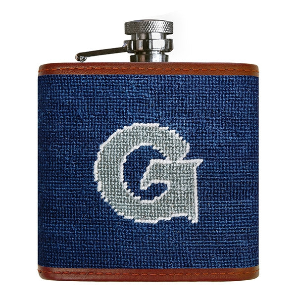 Georgetown Needlepoint Flask - OnwardReserve
