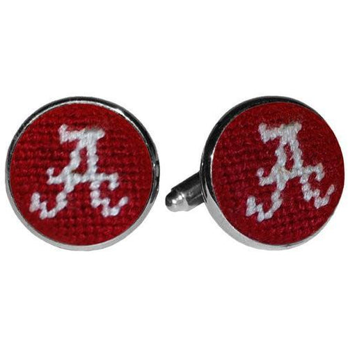 Alabama Needlepoint Cufflinks