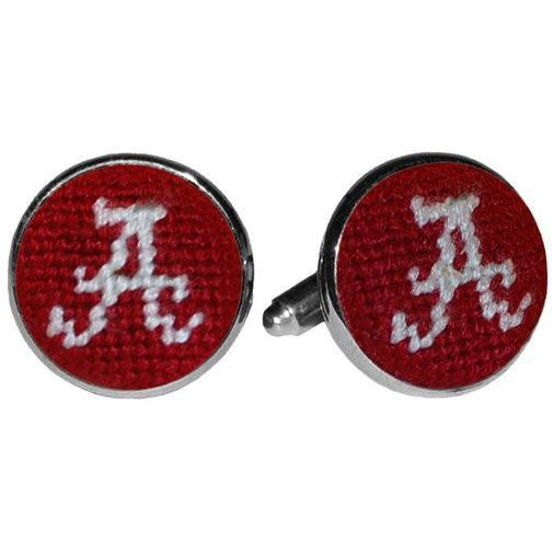 Alabama Needlepoint Cufflinks - OnwardReserve