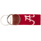 Alabama Needlepoint Key Fob