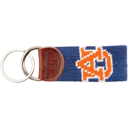 Auburn Needlepoint Key Fob - OnwardReserve