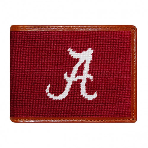 Alabama Needlepoint Bi-Fold Wallet - OnwardReserve