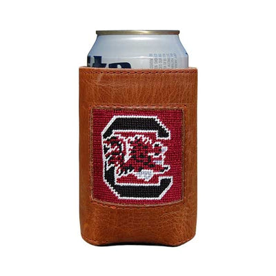 USC Needlepoint Can Cooler