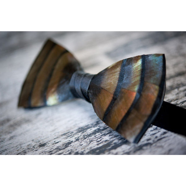 Original Turkey Feather Bow Tie - Onward Reserve