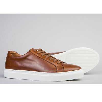 Club Sneaker - Cognac Leather