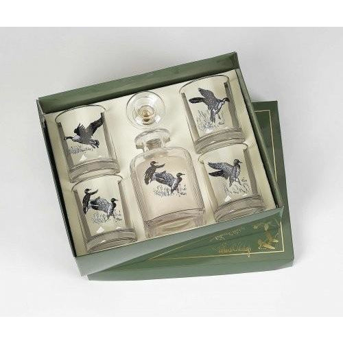 Waterfowl Decanter Set - OnwardReserve