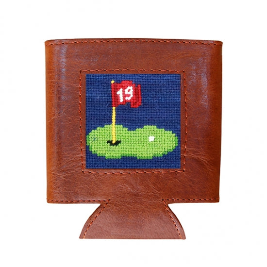 19th Hole Needlepoint Can Cooler - OnwardReserve
