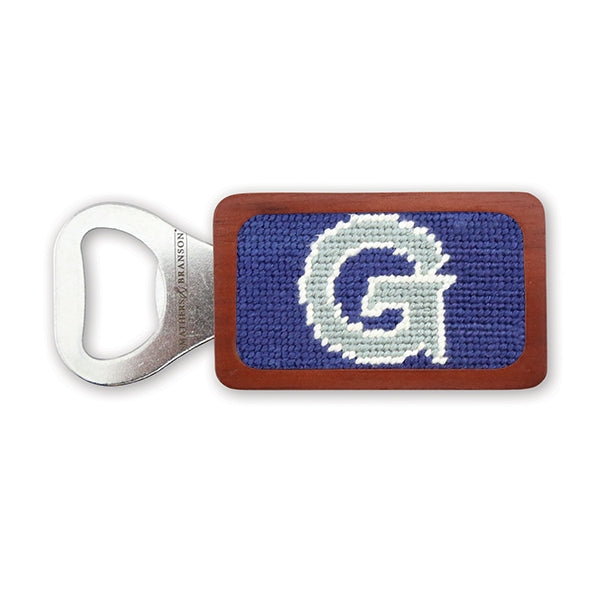 Georgetown Needlepoint Bottle Opener - OnwardReserve