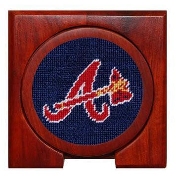 Atlanta Braves Needlepoint Coasters - OnwardReserve