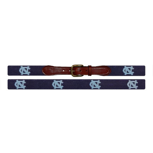 UNC Needlepoint Belt